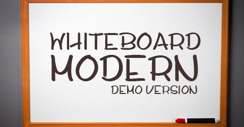 whiteboard 50 Best Free Fonts From 2009