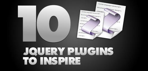 10jqueryplugins Best Of The Web December For Web/Graphic Design