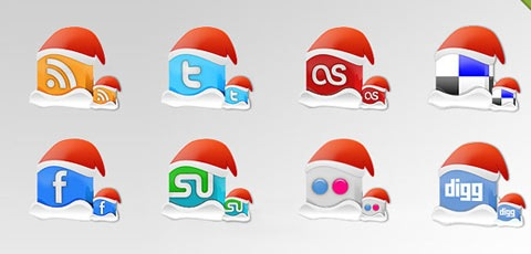 christmasicons1 Best Of The Web December For Web/Graphic Design