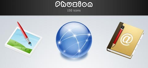 phuzion 60 Best Icon Sets From 2009