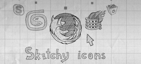sketchyicons 60 Best Icon Sets From 2009