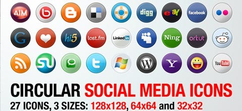 socialicons 60 Best Icon Sets From 2009