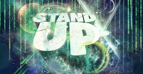standup1 100 Best Photoshop Tutorials From 2009