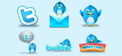 twittericons 60 Best Icon Sets From 2009