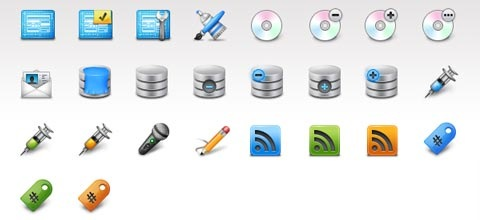 webinjection 60 Best Icon Sets From 2009