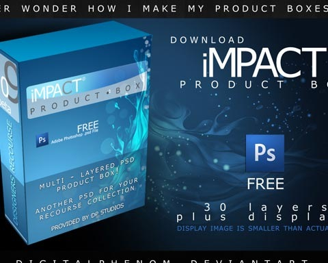 bluepackage 70 Free High Quality PSD File Design Resources