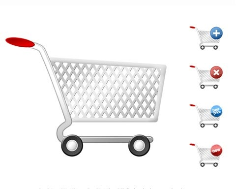 cart 70 Free High Quality PSD File Design Resources