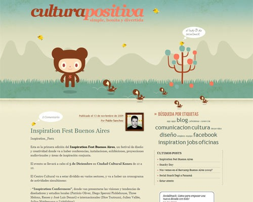 cultura 50 Most Amazing Beautiful Blog Designs