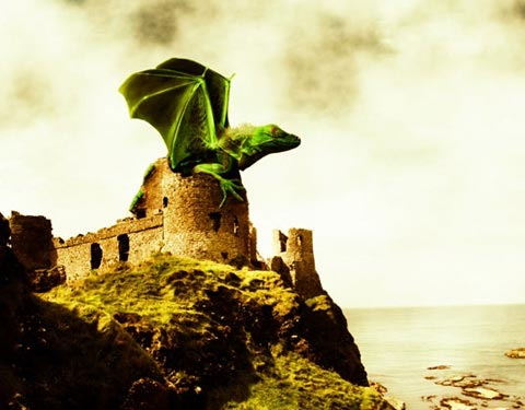 dragon 50 Design Tutorials for Mastering Gimp