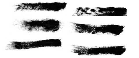 dry-brush-strokes
