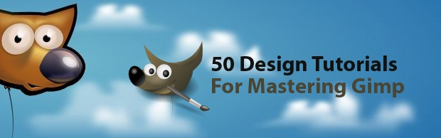 gimpbanner 50 Design Tutorials for Mastering Gimp