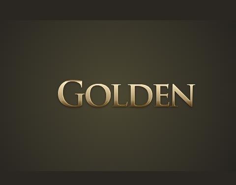 goldeneffecttext 50 Design Tutorials for Mastering Gimp