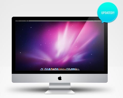 imac 70 Free High Quality PSD File Design Resources