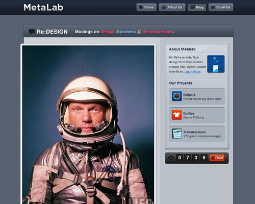 metalab 50 Most Amazing Beautiful Blog Designs