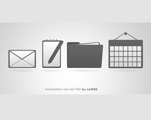 minimilticicons 70 Free High Quality PSD File Design Resources
