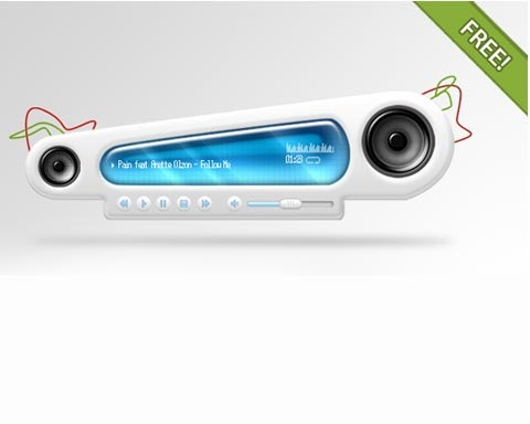mp3player 70 Free High Quality PSD File Design Resources