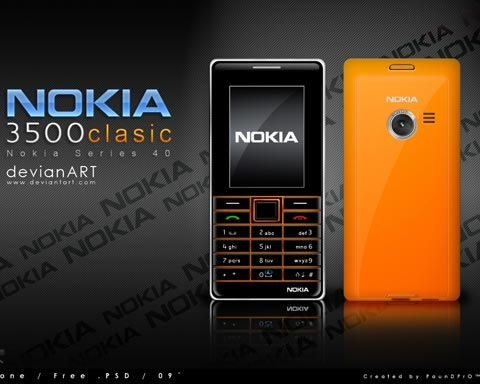 nokia 70 Free High Quality PSD File Design Resources