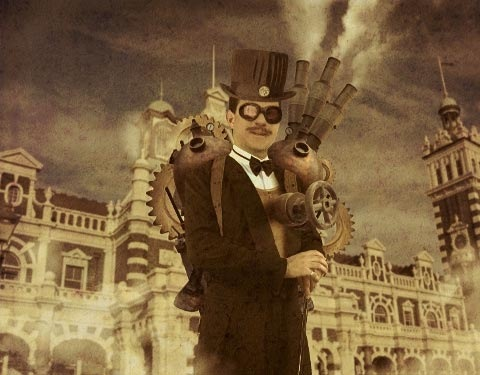 steampunk 50 Design Tutorials for Mastering Gimp