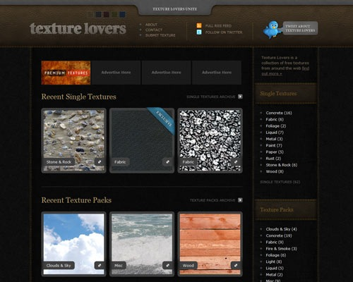 texturelovers 50 Most Amazing Beautiful Blog Designs