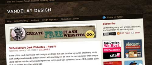vanderley Why every freelance designer should set up a blog