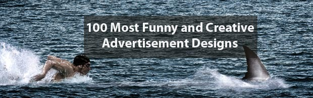 banneradvertimentdesigns 100 Most Funny and Creative Advertisement Designs