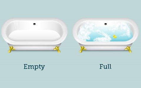 bathtubs 100 Fresh New Photoshop And Illustrator Tutorials From 2010