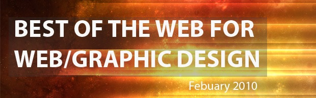 bestofwebbanner Best Of The Web And Design In February 2010