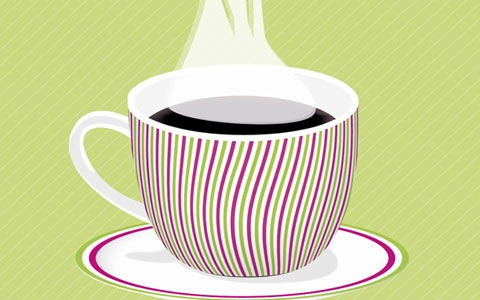 coffiecup 100 Fresh New Photoshop And Illustrator Tutorials From 2010
