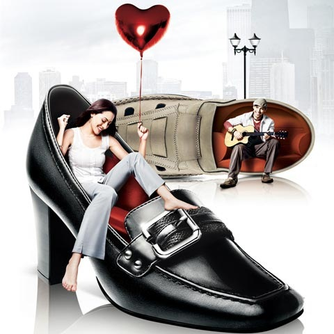 heartshoe 100 Most Funny and Creative Advertisement Designs