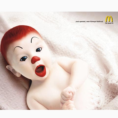 mcdonlds 100 Most Funny and Creative Advertisement Designs