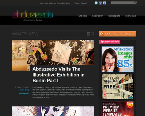 abuzeedo 40 Online Design Blogs To Turn You Into a Photoshop Guru