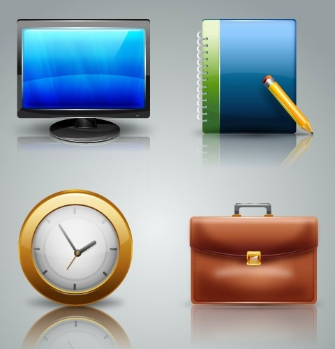 businessicons 40 Fresh New High Quality Icon Sets Created In 2010