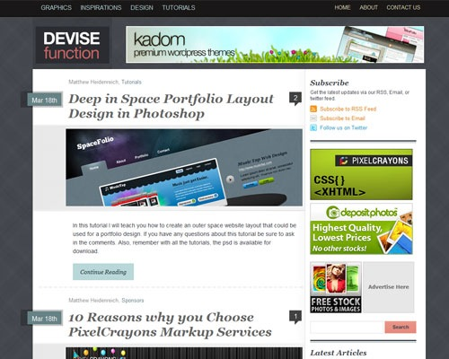 devise 40 Online Design Blogs To Turn You Into a Photoshop Guru