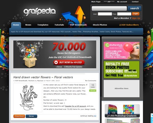 grafpedia 40 Online Design Blogs To Turn You Into a Photoshop Guru