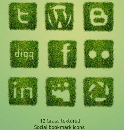 grassicons 40 Fresh New High Quality Icon Sets Created In 2010