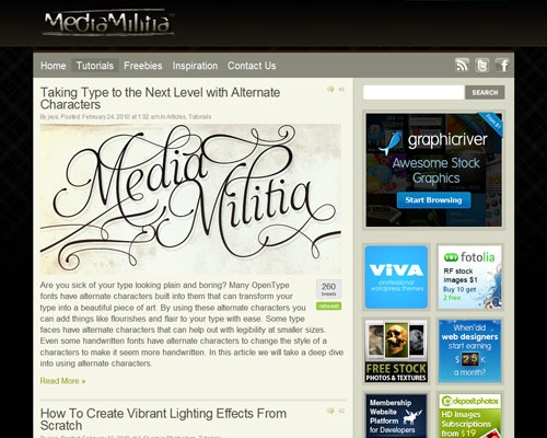 mediamilta 40 Online Design Blogs To Turn You Into a Photoshop Guru