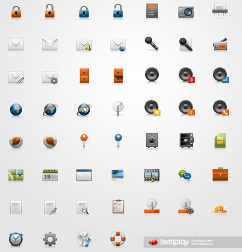 minitureicons 40 Fresh New High Quality Icon Sets Created In 2010
