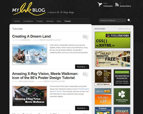 myinkblog 40 Online Design Blogs To Turn You Into a Photoshop Guru