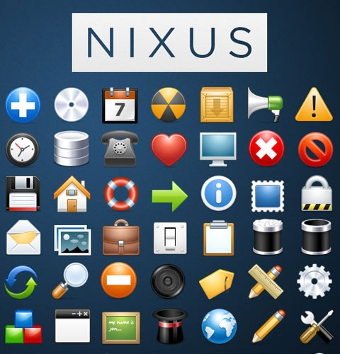 nixus 40 Fresh New High Quality Icon Sets Created In 2010