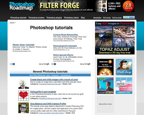 photoshoproadmap 40 Online Design Blogs To Turn You Into a Photoshop Guru