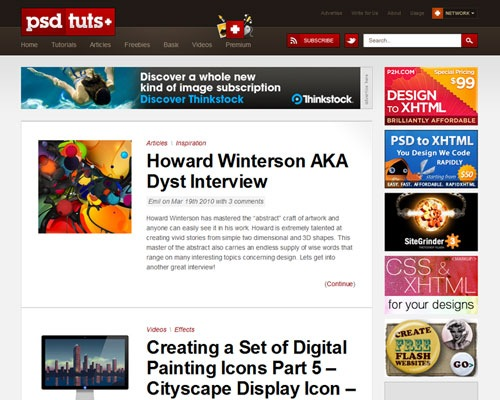 psdtuts 40 Online Design Blogs To Turn You Into a Photoshop Guru