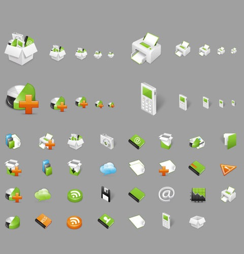 shinyicons 40 Fresh New High Quality Icon Sets Created In 2010