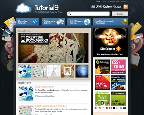 tutorial9 40 Online Design Blogs To Turn You Into a Photoshop Guru