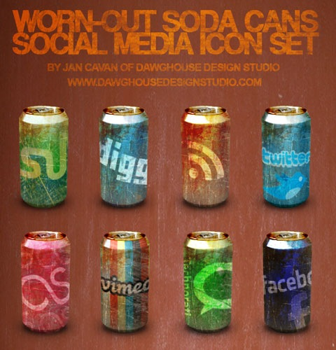 wornoutsodacans 40 Fresh New High Quality Icon Sets Created In 2010