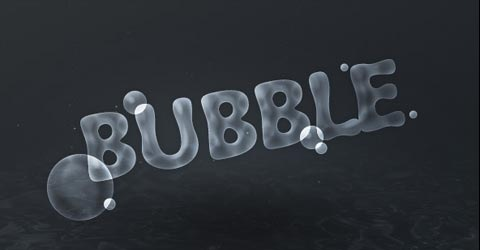 bubble 70 Photoshop Tutorials For Creating Perfect Typography