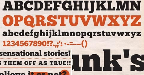 chunk 40 Beautiful Free Fonts For Creating Attractive Typography Headlines