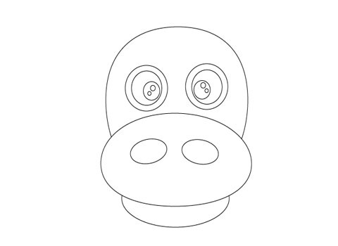 howtocreateeyes How To Create Face Of A Hippo Using Illustrator