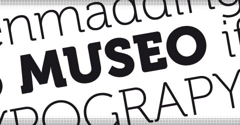 museo 40 Beautiful Free Fonts For Creating Attractive Typography Headlines