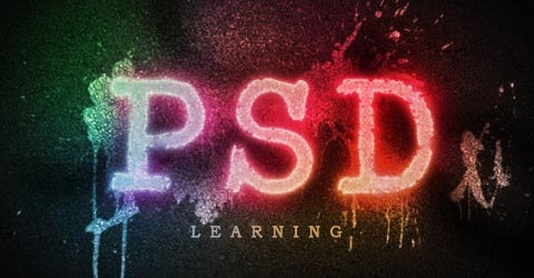spraypaint 70 Photoshop Tutorials For Creating Perfect Typography