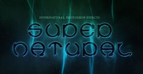 supernatural 70 Photoshop Tutorials For Creating Perfect Typography